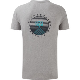 Sherpa Summit Tee Men, heather grey